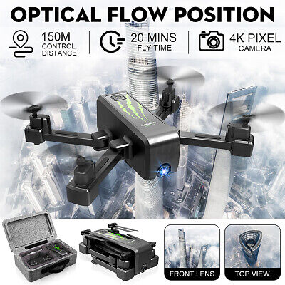 AU39.18 • Buy 4K RC Drones With HD 2-Axis Gimbal Adjustable Camera 50X WIFI FPV Follow Me 2021