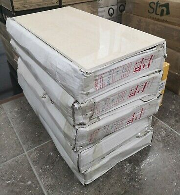 Light Beige 60 X 30 Wall Tiles. Job Lot 7.09 Sqm - FREE DELIVERY • 125£
