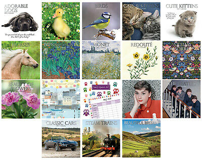 £2.49 • Buy 2021 Large Month To View - Wall Calendars - Organisers - Planners - 30cm X 30cm
