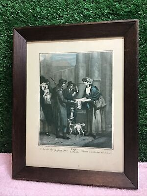 Cries Of London  Vintage Framed Print  A New Love Song • 16£