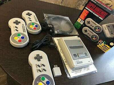 $ CDN130.82 • Buy Super Nintendo Classic Mini Console, SNES, 21 Games+ 200!! Modified, Authentic.