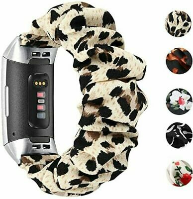 AU13.99 • Buy For Fitbit Charge 3 /3 SE / 4 Scrunchie Soft Loop Watch Band Women Wrist Strap