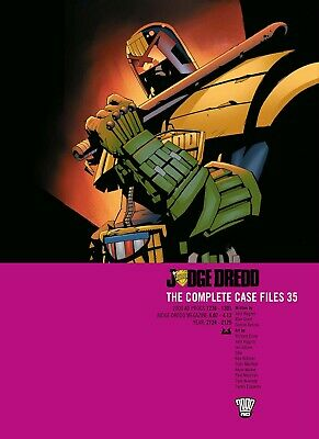 Judge Dredd: The Complete Case Files 35 (2000AD Progs 1276 - 1301) Graphic Novel • 19.99£