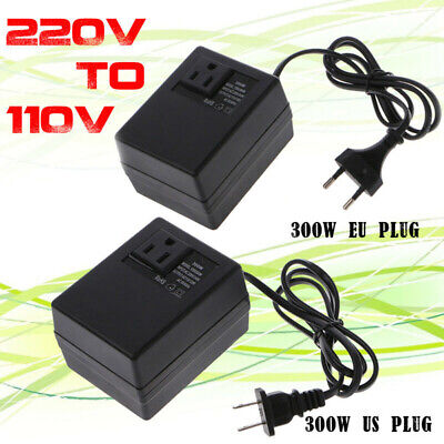JW_ 300W Voltage Converter Transformer AC 220V To 110V Step Down Travel Power  • 25.80£