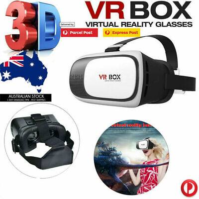 AU19.45 • Buy Professional Cardboard VR BOX Virtual Reality 3D Glasses For Cell Phone Headset