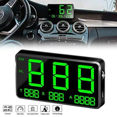 Digital Gps Speedometer Hud Mph / Km/h Overspeed Warning For Car Motorcycle • 20.59£