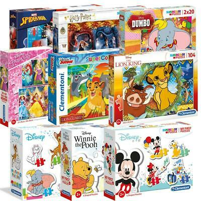 Clementoni Disney Marvel Jigsaw Puzzle 24-360 Pieces For Kids Games Toys Fun New • 7.99£