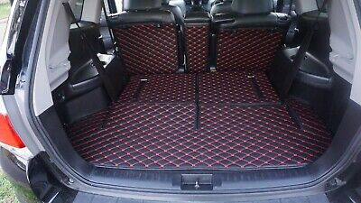 AU189 • Buy AU Made 3D Customised Cargo Trunk Boot Mats For Toyota Kluger 7 Seater 2007-2013