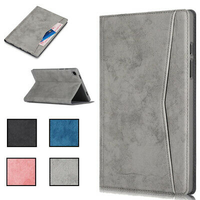 Elegant Leather + TPU Tablet Case Cover For Samsung Galaxy Tab A7 T500 S7 T870 • 16.91£