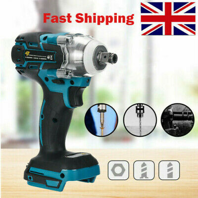 Replace For MAKITA DTW285Z 18V Cordless Brushless Impact Wrench 1/2  Driver UK • 23.49£