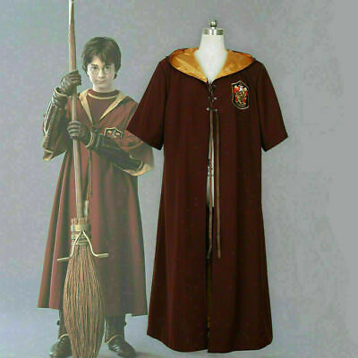 $ CDN62.91 • Buy Harry Potter Quidditch Robes Gryffindor Red Cape Costume Cosplay Anime Movie