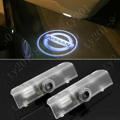 $17.09 • Buy New 2x LED Car Door Courtesy Laser Ghost Shadow Projector Lights Lamp For Nissan