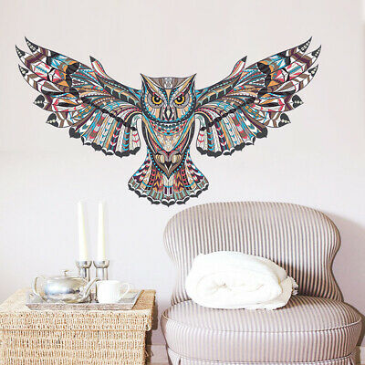 Creative Owl Living Room Bedroom Background Wall Sticker ZY1025 • 7.24£