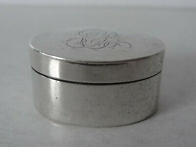 Solid Silver Oval Shaped Nutmeg Grater Hinged Grill Birmingham 1803 & Miles Book • 500£
