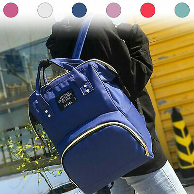 Nappy Yummy Mummy Changing Maternity Baby Bag Backpack Diaper Multifunctional • 6.89£
