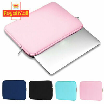 11 13 15 Inch Laptop Bag Sleeve Case Cover For MacBook Air Pro HP Dell Asus UK • 5.99£