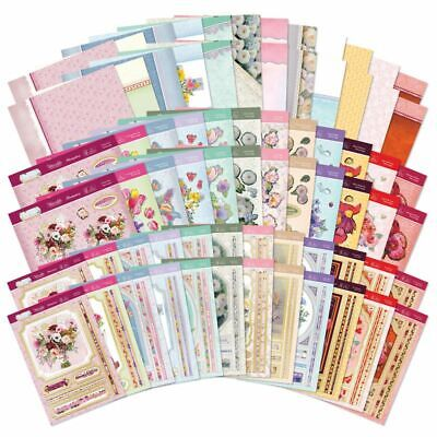 New Hunkydory Flourishing Florals Designer Deco Large Decoupage Toppers Card Kit • 1.99£