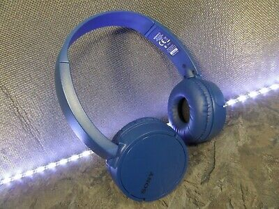 Sony Mdr-zx220bt Bluetooth Nfc Wireless Headphones Blue Colour • 3.99£
