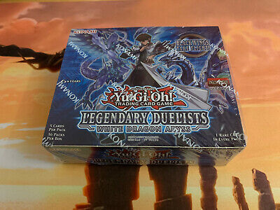Yu-Gi-Oh! Legendary Duelists White Dragon Abyss Booster Box - 1st Ed - English • 175£