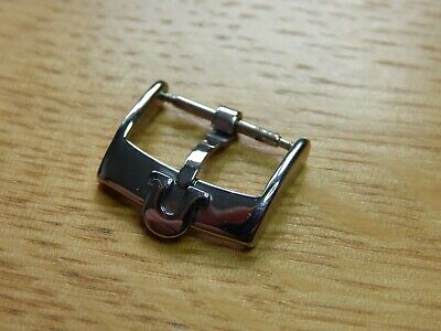 OMEGA SILVER PLATED WATCH STRAP BUCKLE 16 MM  FREE POST U.k. Supplied • 7£