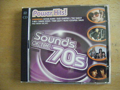 Sounds Of The 70s - POWER HITS! [TIME LIFE] - 2 CDs - VG • 19.99£