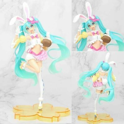 10  Anime Rabbit Hatsune Miku Pretty Action Figure Toy Doll Collectable Gift • 8.98£