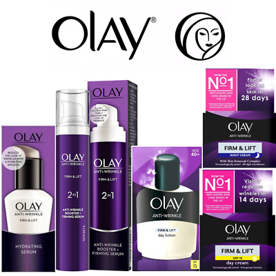 £9.99 • Buy Olay Anti-Wrinkle Firm Lift Anti-Ageing Serum-Lotion-Day-Night Cream