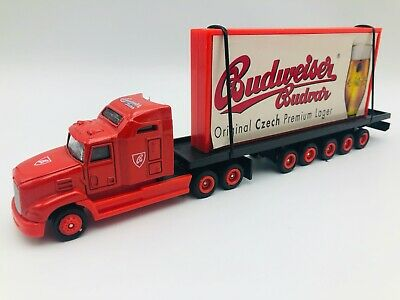 $ CDN13.08 • Buy Budweiser Budvar Beer Advertising Toy Truck  Original Czech Premium Lager