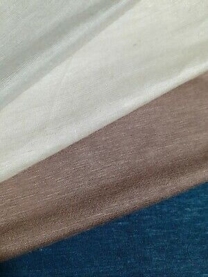 Thin Viscose/cotton Jersey Fabric-sold By The Metre • 3.99£