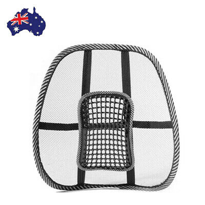 AU13.99 • Buy Mesh Lumbar Lower Back Support Cushion Seat Posture Correct Car Office Chair