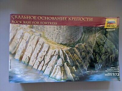 ZVEZDA No: 8528 1:72 Rock Base For Fortress, Unopened, Boxed • 15£