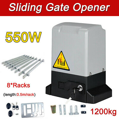 £159 • Buy Sliding Gate Opener Electric Operator W/Remote Control Automatic Roller 1200Kg
