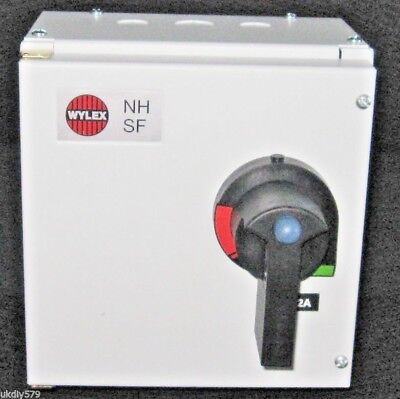 Wylex 32A Fuse Combination Unit NHSPSF32 Switchfuse Single Pole & Neutral (D56) • 79.99£