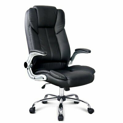 AU126.68 • Buy Artiss Gaming Office Chair Executive Computer Chairs PU Leather Seating Black