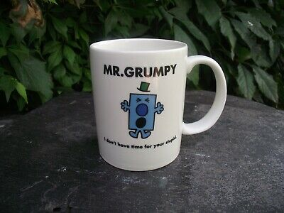 Roger Hargreaves Mr Men Mr Grumpy Ceramic Mug 2018 Thoip • 6£