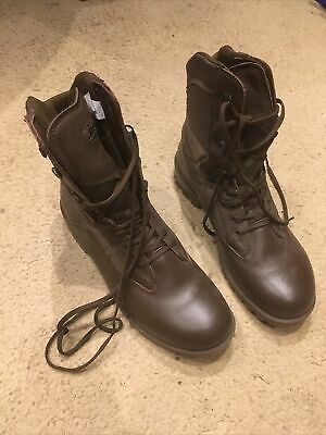 YDS Kestrel British Army Issue MTP Brown Boots Size 12M New But No Box • 30£
