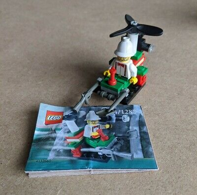 Lego Adventures Microcopter 5904/1280 Complete Helmet Accessory W/ Instructions  • 11£