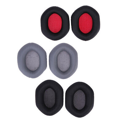 Replacement Ear Pads Cushion Earpad For V-MODA XS Crossfade M-100 LP2 LP DJ 7E • 6.12£