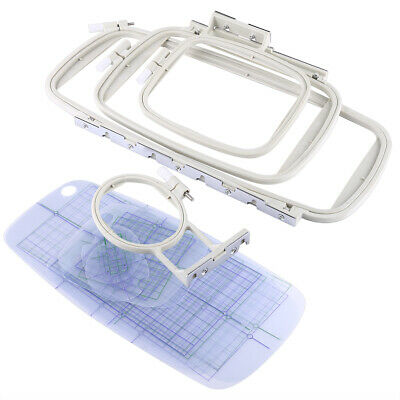 4p Embroidery Sewing Hoop Set For Brother PE-700 PE-700II PE770 PE780D Machine • 22.93£