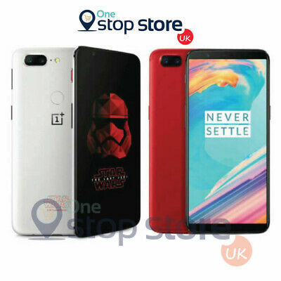 AU342.55 • Buy One Plus 5T 128GB Dual SIM Star Wars NU Smartphone NFC 4G - A5010 - White/Red