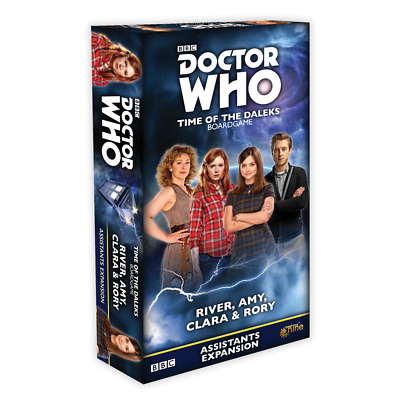 £13.50 • Buy Doctor Who Time Of The Daleks River, Amy, Clara & Rory Friends Expansion