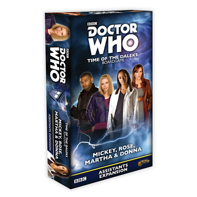 £13.50 • Buy Doctor Who Time Of The Daleks Mickey, Rose, Martha & Donna Friends Expansion