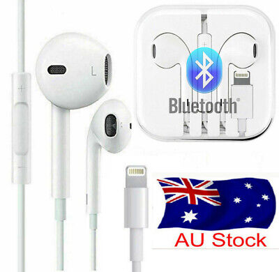 AU9.99 • Buy Wired Bluetooth Earbud Earphone Headphone Headset For Apple Iphone 7 8 X 11 Pro