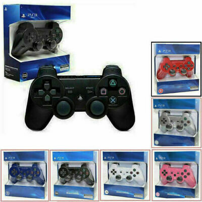SONY PS3 Controller GamePad PlayStation 3 DualShock 3 Wireless HotPS3 GIFTS UK • 12.99£