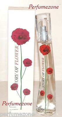 Brand New & Boxed Story Of Flower Ladies Perfumes Natural Spray 50ml For Women • 5£