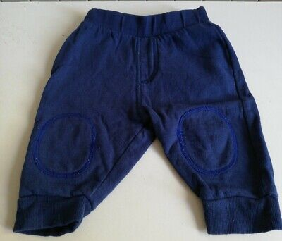 Baby Boys 3-6 Months Navy Jogging Bottoms • 1.25£