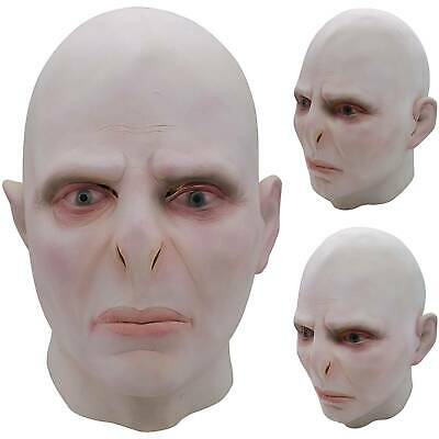 £13.09 • Buy Halloween Voldemort Haunted Scary Full Face Mask Cosplay Costume Fancy Dress Up
