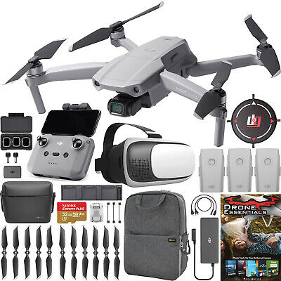 AU1315.49 • Buy DJI Mavic Air 2 Drone Quadcopter Fly More Combo 48MP 4K Video With Remote Bundle