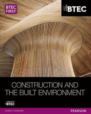 £34.93 • Buy BTEC First Construction And The Built Environment Student Bo By Simon Topliss Pa