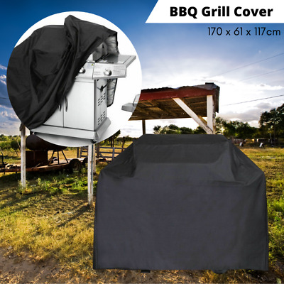 AU20.39 • Buy BBQ Grill Cover Waterproof 4 Burner Outdoor Gas Charcoal Protector